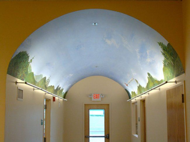 ridgewood-montessori-school-barrel-vaulted-ceiling-mural-44379